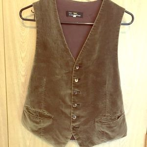 Other - Vintage Distressed Cortefiel Vest Size 42